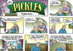 Pickles comic strip takes on the value of making mistakes