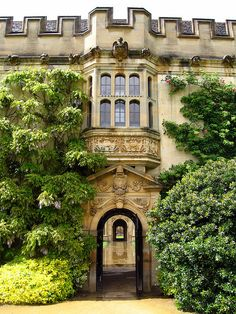Archways, Oxford, England...  Oxford was amazing!  <3