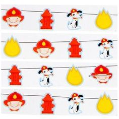 Fire Themed Party Garland