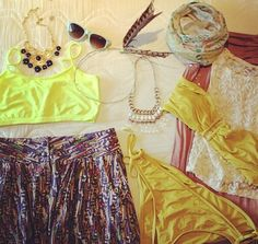 Hangout Festival Fashion // The Lovely Bee