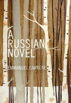 Pascale Hutton cover illustration for 'A Russian Novel.'