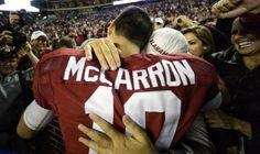 AJ McCarron meets AJ Starr