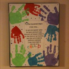 Kids made for family at Christmas & for Daycare Provider