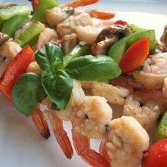 cook, balsam shrimp, garlic balsam, main dish, shrimp recip, seafood yummi, drink, eat, garlic shrimp