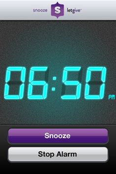 time, snooz smart, hit, iphon donat, snooz button, buttons, snooz app, chariti