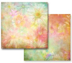 Prima - Fairy Flora Collection - 12 x 12 Double Sided Paper - Sunlight Daisies at Scrapbook.com $0.89