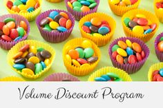 New Volume Discount program at Candy.com