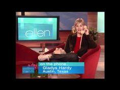 Ellen Checks-In with Gladys