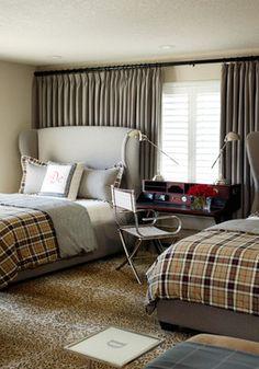 boys bedroom via Tobi Fairley Interior Design