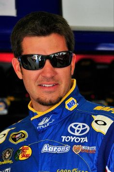 Martin Truex Jr.  Driver of the NAPA MWR #56.  My favorite Sprint Cup driver!  Martin's dad and my aunt (and mom) went to high school together!  So my whole family is pulling for Martin and his brother Ryan.  Gotta cheer for hometown boys!