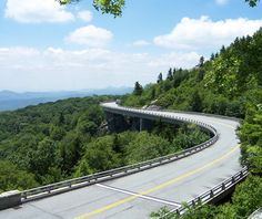 """Travel + Leisure calls the Blue Ridge Parkway one of """"America's Most Iconic Drives."""""""