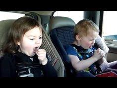 Kids Lip Sync Heavy Metal music (watch the little blond boy)