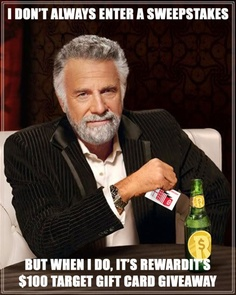 The most interesting sweepstakes in the world? Enter today! http://on.fb.me/HaIBP7