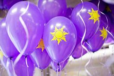 tangled balloons