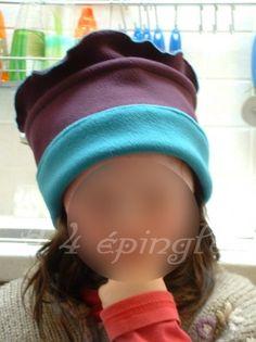 tuto chapeau en polaire