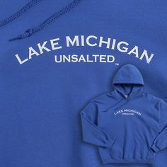 Lake Michigan Unsalted hoodie from Michigan Rag Co. in Grand Haven