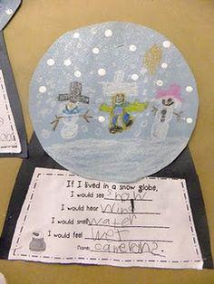 snowglobe writing