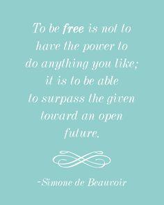 Simone de Beauvoir - French writer, feminist, political activist #internationalwomensday #simonedebeauvoir