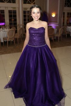 Bat Mitzvah gown from Outrageous Boutique