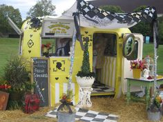 lemonade stands, vintage trailers, flea, sweet lemonad, lemonad stand, playroom, chalkboard, vintag trailer, vintag camper
