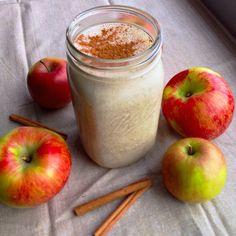 The Apple Pie Crumble Protein Smoothie — 16g protein, 255 calories