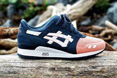 gel lyte III, canary on blue. 12, please. style, lyte iii, sneaker, salmon toe, ronni fieg, toes, asic gel, gel lyte, shoe