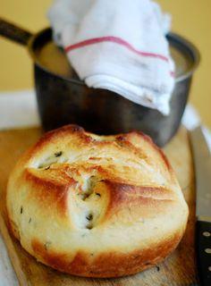 Herbed 'Pot' Bread