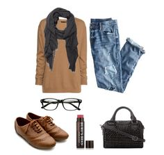Outfit Idea of the Day for fall. Break out the oxfords! These oxfords are on sale for $19.99! Would you wear this?