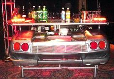 Install Exotic Car Furniture #repurposed #cars #auto #furniture #decor #teamnissan #newhampshire #newengland