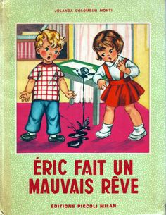 eric vintag children, vintag card, livr vintag, vintag illustr, vintag enfant