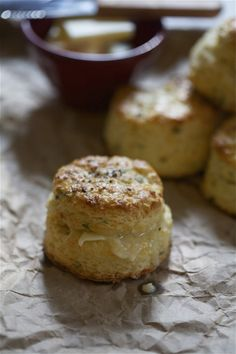 Sage and Fontina Buttermilk Biscuits | a cozy kitchen