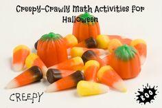 Creepy Crawly Math Lessons