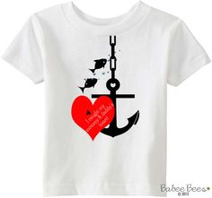 Anchor Baby Clothes Anchor Baby Boy Anchor Baby Girl by BabeeBees