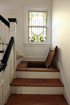 Another idea for a secret spot/hideout in the house in case of emergency. Make it where it locks from the inside.
