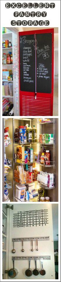 Pantry Door Storage Ideas