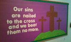 My Lenten bulletin board!