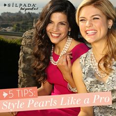 Style #Pearls like a pro! #WomensFashion #jewelry