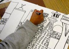 Futuristic Architecture lesson, 5th and 6th