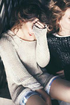 Cozy sweaters. Love.