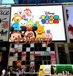 Tsum Tsums at Disney Store Times Square (NY)