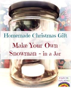 Creative Playhouse: Make Your Own Snowman Gift