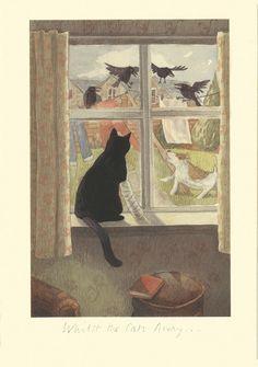 alison friend, black cat