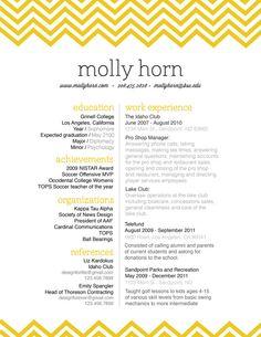 personal branding package / resume letterhead by ChelseaRaeDesigns, $100.00
