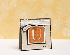 A link to Thanksgiving card and papercrafting ideas from #CTMH!