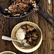 Skillet-Baked Pear-and-Apple Crisp, Recipe from Cooking.com