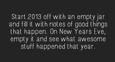 Doing this for 2013!!