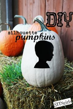 DIY Halloween : DIY Silhouettes Art : DIY Halloween Decor