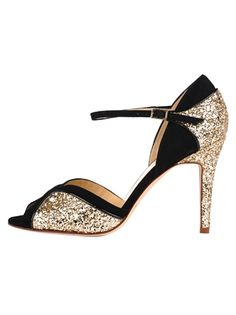 kate spade - glitter and black
