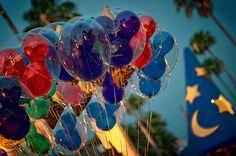 Hollywood Studios, Walt Disney World #Disney #Balloons #Mickey