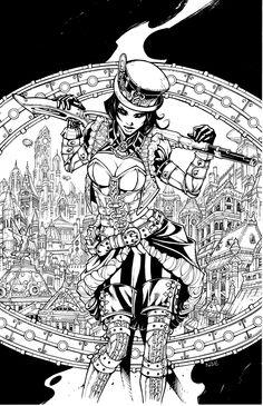 Lady Mechanika by olivernome.deviantart.com on @deviantART